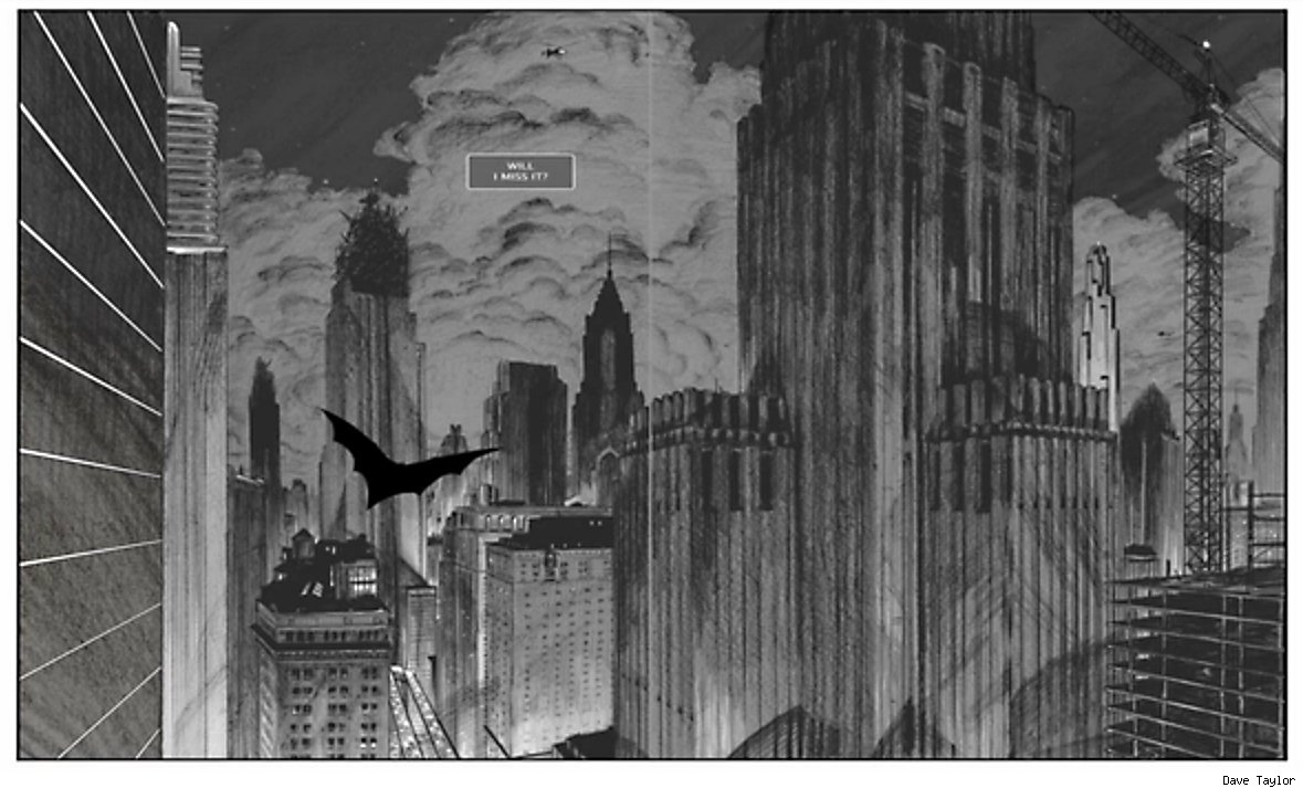 Death by Design Gotham Skyline