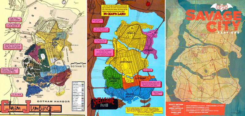 gotham city map no man's land